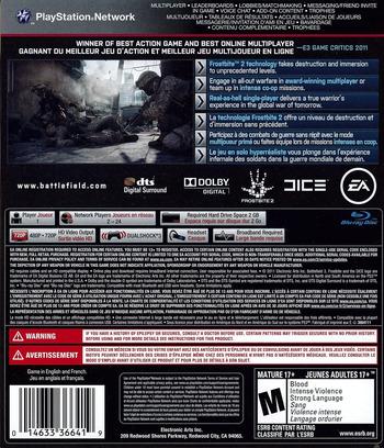Battlefield 3 PS3 backM (BLUS30762)