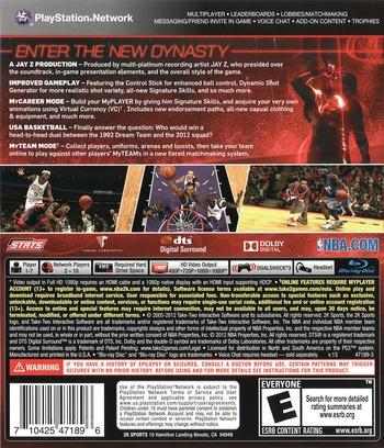 NBA 2K13 PS3 backM (BLUS31028)