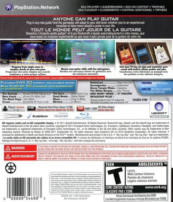 Rocksmith PS3 backM (BLUS31031)