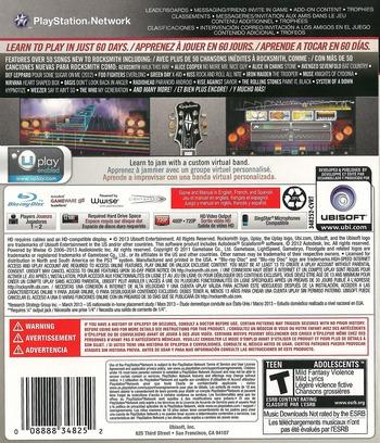 Rocksmith 2014 Edition PS3 backM (BLUS31354)