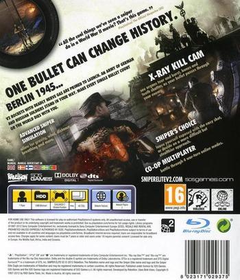 Sniper Elite V2 PS3 backM (BLES01290)