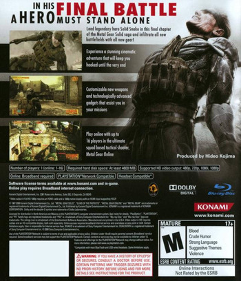 Metal Gear Solid 4: Guns of the Patriots Array backM (BLUS30109)