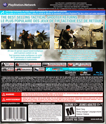 SOCOM 4: U.S. Navy SEALs PS3 backM2 (BCUS98135)