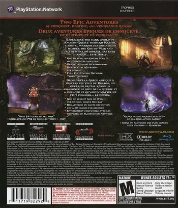 God of War Collection Array backM2 (BCUS98229)