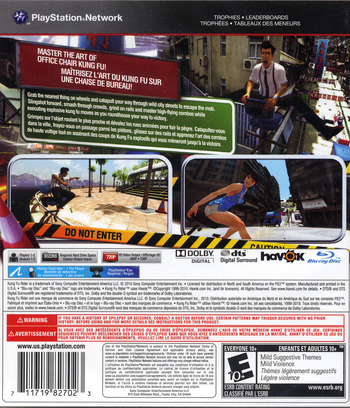 Kung Fu Rider PS3 backM2 (BCUS98270)