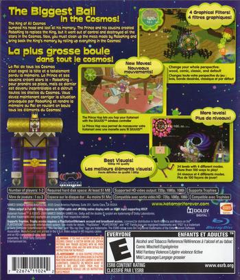 Katamari Forever PS3 backM2 (BLUS30336)