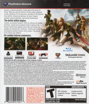 Final Fantasy XIII PS3 backM2 (BLUS30416)