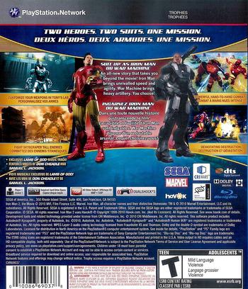 Iron Man 2 Array backM2 (BLUS30514)