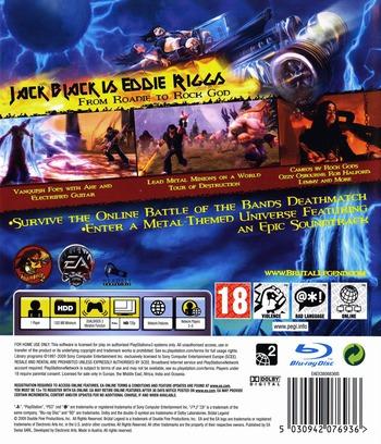 Brutal Legend PS3 backMB (BLES00562)