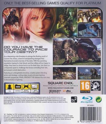 Final Fantasy XIII PS3 backMB2 (BLES00783)