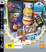 Buzz! Brain of Oz PS3 cover (BCES00363)