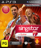 SingStar Guitar PS3 cover (BCES00981)