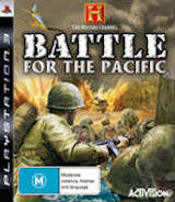 The History Channel: Battle for the Pacific PS3 cover (BLES00194)