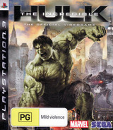 The Incredible Hulk PS3 cover (BLES00289)