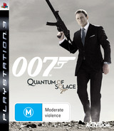 Quantum of Solace: The Game PS3 cover (BLES00406)
