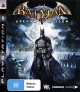 Batman: Arkham Asylum PS3 cover (BLES00503)
