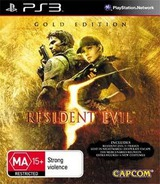 Resident Evil 5: Gold Edition PS3 cover (BLES00816)