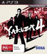 Yakuza 4 PS3 cover (BLES01081)