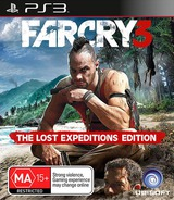 Far Cry 3 PS3 cover (BLES01138)
