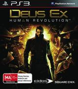 Deus Ex: Human Revolution PS3 cover (BLES01151)