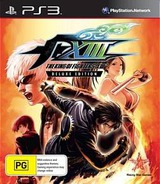 The King of Fighters XIII PS3 cover (BLES01409)