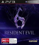 Resident Evil 6 PS3 cover (BLES01465)