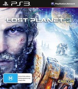 Lost Planet 3 PS3 cover (BLES01685)
