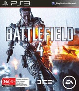 Battlefield 4 PS3 cover (BLES01832)