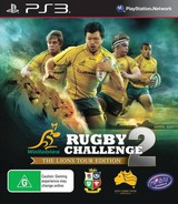Rugby Challenge 2: The Lions Tour Edition PS3 cover (BLES01841)