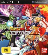 Dragon Ball Z: Battle of Z PS3 cover (BLES01941)
