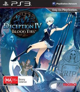Deception IV: Blood Ties PS3 cover (BLES01997)