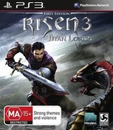 Risen 3: Titan Lords PS3 cover (BLES02010)