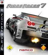 Ridge Racer 7 PS3 cover (BCES00009)