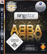 SingStar: ABBA PS3 cover (BCES00381)