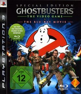 Ghostbusters: The Videogame & The Blu-Ray Movie PS3 cover (BCES00642)