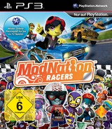 ModNation Racers PS3 cover (BCES00701)