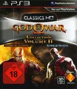 God of War Collection Volume II PS3 cover (BCES01277)