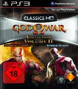 God of War Collection Volume II PS3 cover (BCES01278)