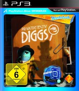 Wonderbook Privatdetektiv Diggs PS3 cover (BCES01725)