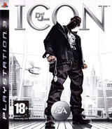 Def Jam: Icon PS3 cover (BLES00042)