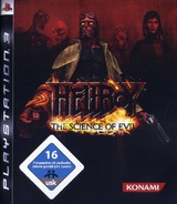 Hellboy: Science of Evil PS3 cover (BLES00090)