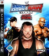 WWE SmackDown vs. Raw 2008 PS3 cover (BLES00136)