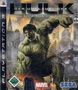 Der Unglaubliche Hulk: Das offizielle Videospiel PS3 cover (BLES00289)