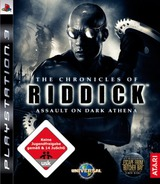 The Chronicles of Riddick: Assault on Dark Athena PS3 cover (BLES00311)