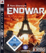 Tom Clancy's EndWar PS3 cover (BLES00326)