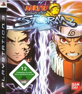 Naruto: Ultimate Ninja Storm PS3 cover (BLES00371)