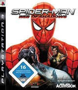 Spider-Man: Web of Shadows PS3 cover (BLES00392)