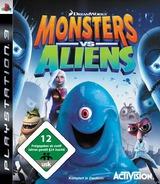 Dreamworks Monsters vs. Aliens PS3 cover (BLES00490)