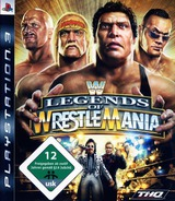 WWE Legends of WrestleMania PS3 cover (BLES00492)