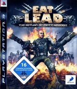 Eat Lead: The Return of Matt Hazard PS3 cover (BLES00495)